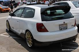 honda 7th civic tuned honda civic hatchback 7th generatition 2001 2005 picture