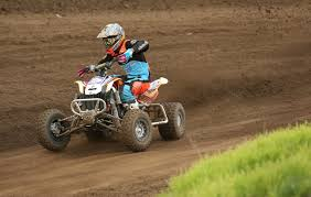 atv motocross maverick driven by hunter miller wins utv expert class