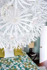 Paper Hanging Lamp Hanging An Ikea Maskros Light In Our Bedroom Young House Love