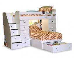 Staircase Bunk Beds Twin Over Full by Bunk Bed Twin Over Full With Stairs Foter