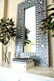 decorative wall mirror stickers india online antique mirrors