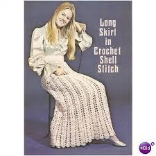 crochet skirt pattern long skirt in crochet on ebid united states