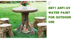 Design For Garden Table by Tree Trunk Design For Garden Bench And Desk Buy Desk Table And