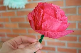 Making Flowers Out Of Tissue Paper For Kids - tissue paper flowers tips