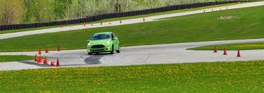 2016 subaru wrx sti review track test video performancedrive 2014 ford fiesta st is most fun on autocross track