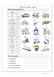 121 free esl picture dictionary worksheets