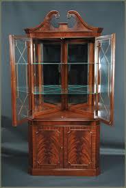 furniture small glass curio cabinet ikea for home furniture idea