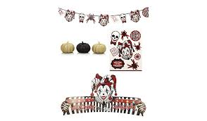 New Years Decorations Asda by Twisted Carnival Halloween Decoration Set George