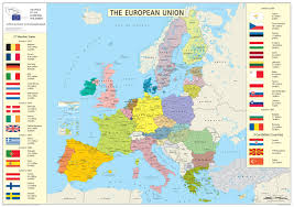 Europe Map With Capitals by European Union Member States Detailed Map Detailed Map Of Member