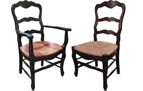 Ladder Back Dining Chairs Country Ladderback Chair Country Ladderback Dining