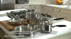 target calphalon black friday select by calphalon 8 piece stainless steel cookware set target
