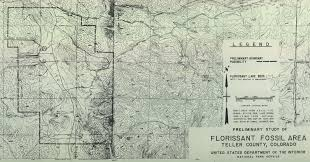 Topographical Map Of Colorado by A Tale Of Two Tourist Traps The Creation Of Florissant Fossil