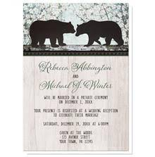 Reception Only Invitations Rustic Deer Woodsy Reception Only Invitations At Artistically Invited