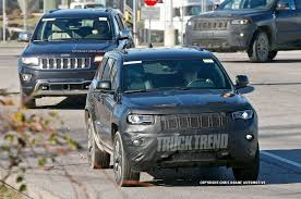 cherokee jeep 2016 refreshed 2017 jeep grand cherokee spied