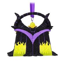 your wdw store disney purse ornament maleficent from sleeping