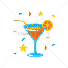 birthday martini clipart a glass of cocktail vector image 2017264 stockunlimited