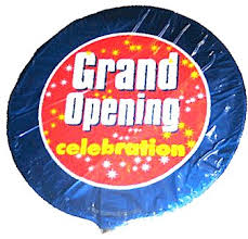 mylar balloons grand opening mylar balloon celebration golden openings