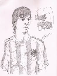 soccer player coloring page you can print out this soccer at messi