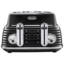 Toaster Retro Buy Delonghi Ctz4003 Bk Scultura 4 Slice Retro Classic Toaster