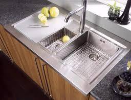 Bistro  Bowl Sit On Work Centre With Left Hand Drainer  Extras - Sit on kitchen sink