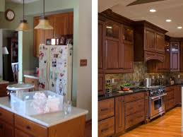 Galley Kitchen Makeovers Before And After 100 Kitchen Remodel Ideas Before And After Island Small