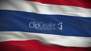 Flag Of Thailand Highly Detailed Flag Of Thailand Ripples In The Wind Looped 3d