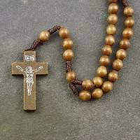 wooden rosaries rosary