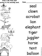 the circus fairs and carnivals at enchantedlearning com