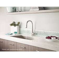 Polished Nickel Kitchen Faucets Polished Nickel Lita Pull Down Kitchen Faucet Gt529 Smd