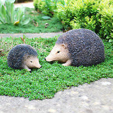 hedgehog garden ornament ebay