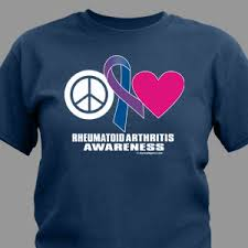 ra ribbon arthritis awareness apparel arthritis shirts