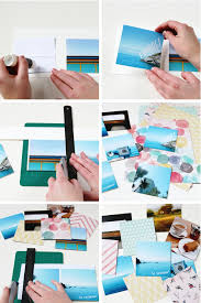 make a photo album diy instagram mini album gathering beauty