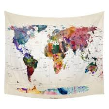 Online World Map by Online Get Cheap World Map Tapestry Aliexpress Com Alibaba Group