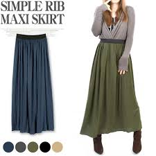 pattern for simple long skirt terracotta rakuten global market z0 ribs in its long length