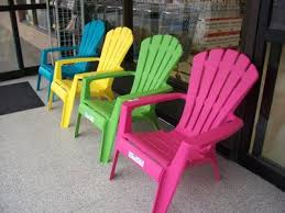 Affordable Chic Outdoor Decor Ideas by Furniture Chic Design Of Plastic Adirondack Chairs Target For