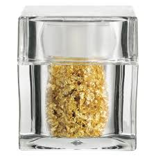 where to buy edible gold leaf edible gold leaf flakes in clear acrylic cube shaker