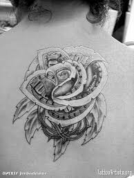 chicano money rose tattoo flash pictures to pin on pinterest