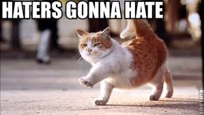 Haters Gonna Hate Meme Generator - haters gonna hate