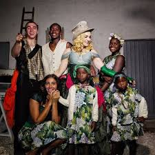 kid s madonna celebrates birthday with all 6 kids and shares rare family
