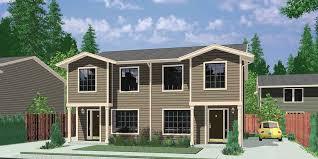duplex house plans narrow duplex house plans 3 bedroom d 358