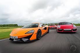 vs porsche 911 turbo which is the best everyday supercar mclaren 570s vs audi r8 v10