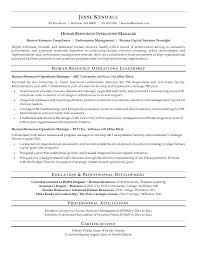 human resource resume human resource resume top resources no experience sle