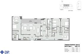 floor plans bellevue towers downtown dubai by dubai properties