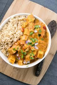 cuisine indienne facile recette tofu tikka masala un délicieux curry végétalien facile à