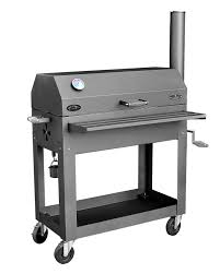 works 1 charcoal u0026 wood bbq smoker grill 512 sq in surface