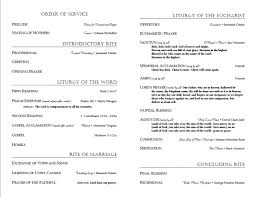 catholic mass wedding programs like this idea for wedding program how to get married