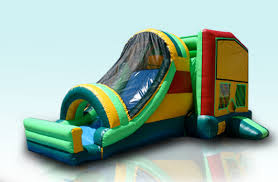 party rental sacramento bounce time party rental rainbow combo bounce house rentals 916