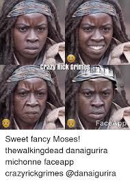 Meme Face App - crazy rick grimes face app sweet fancy moses thewalkingdead