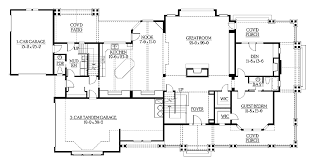 craftsman open floor plans craftsman house floor plans free home act