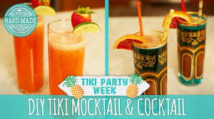 2 tiki party drinks for a crowd tiki party week hgtv handmade